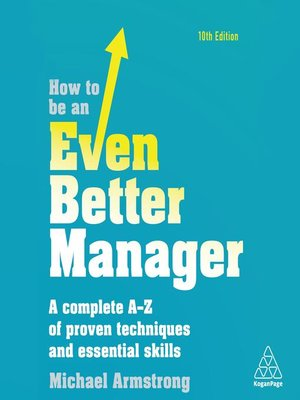 cover image of How to be an Even Better Manager