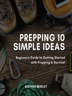 cover image of Prepping 10 Simple Ideas