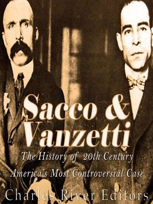cover image of Sacco and Vanzetti