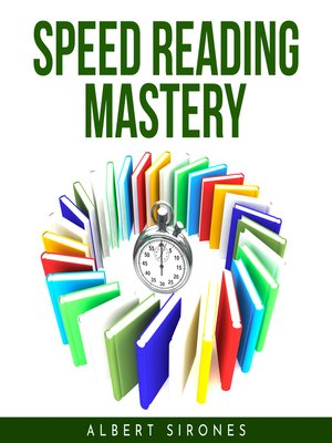 cover image of SPEED READING MASTERY