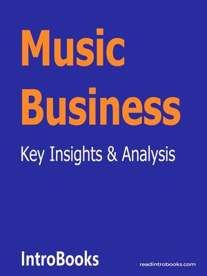 cover image of Music Business
