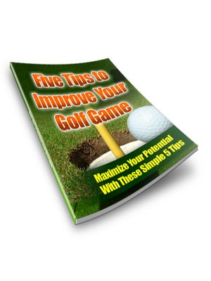 cover image of 5 Tips to Improve Your Golf Game