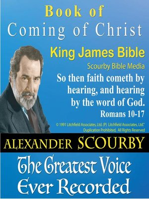 cover image of Coming of Christ
