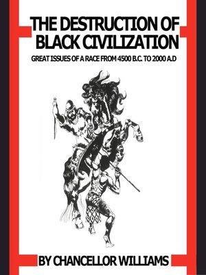cover image of Destruction of Black Civilization