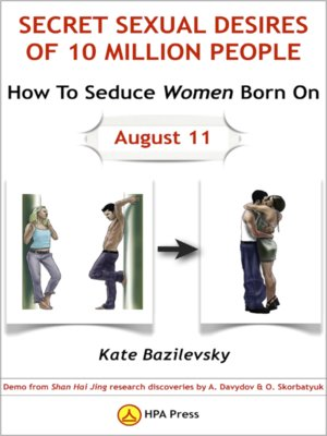 cover image of How to Seduce Women Born on August 11