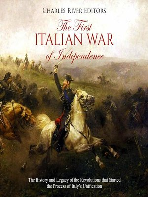 cover image of The First Italian War of Independence