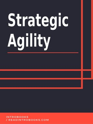 cover image of Strategic Agility