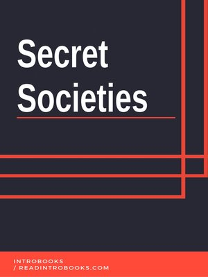 cover image of Secret Societies