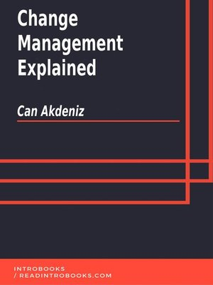 cover image of Change Management Explained