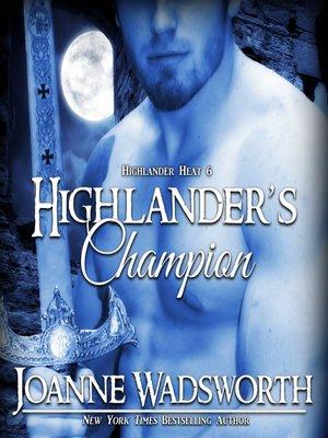 cover image of Highlander's Champion