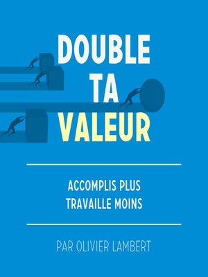 cover image of Double Ta Valeur
