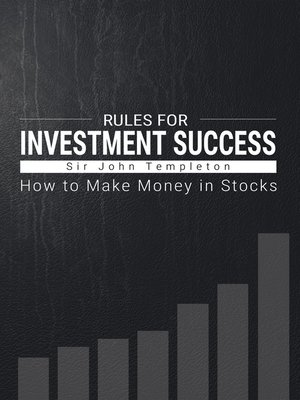 cover image of Rules for Investment Success
