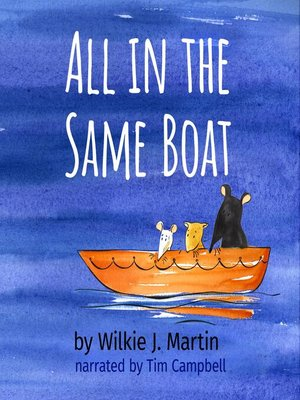 cover image of All In the Same Boat