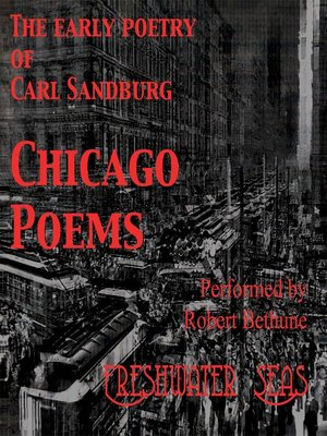 cover image of Chicago Poems