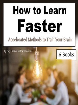 cover image of How to Learn Faster