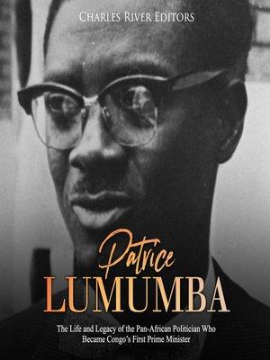cover image of Patrice Lumumba