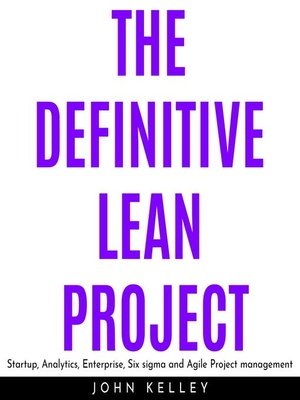 cover image of THE DEFINITIVE LEAN PROJECT