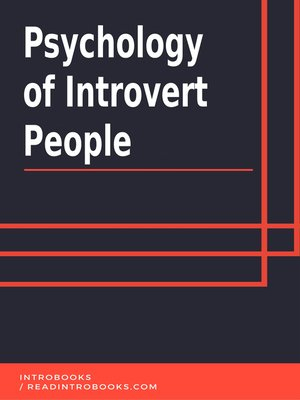 cover image of Psychology of Introvert People