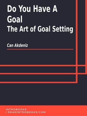 cover image of Do You Have a Goal