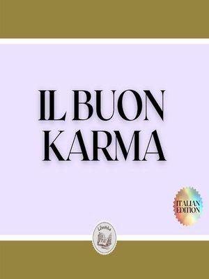 cover image of IL BUON KARMA