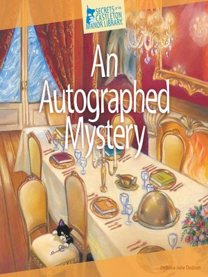 cover image of An Autographed Mystery
