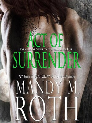 cover image of Act of Surrender