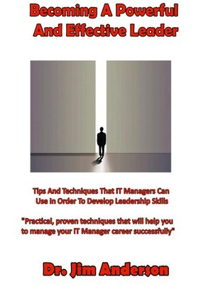 cover image of Becoming a Powerful and Effective Leader