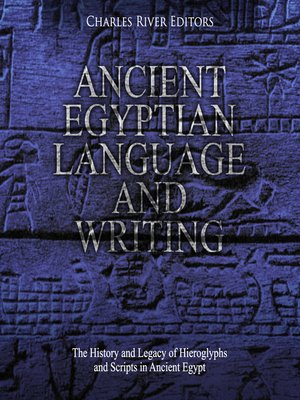 cover image of Ancient Egyptian Language and Writing
