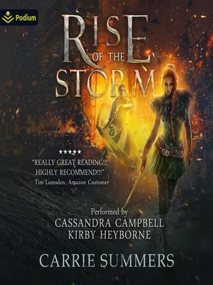 cover image of Rise of the Storm