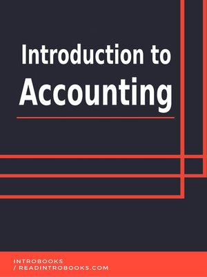 cover image of Introduction to Accounting