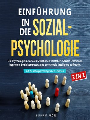 cover image of Einführung in die Sozialpsychologie--2 in 1