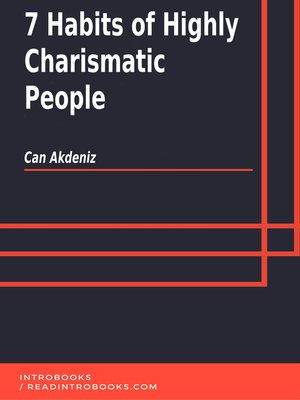 cover image of 7 Habits of Highly Charismatic People