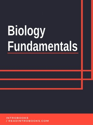 cover image of Biology Fundamentals