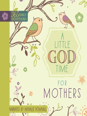 cover image of A Little God Time for Mothers
