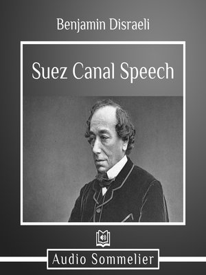 cover image of Suez Canal Speech