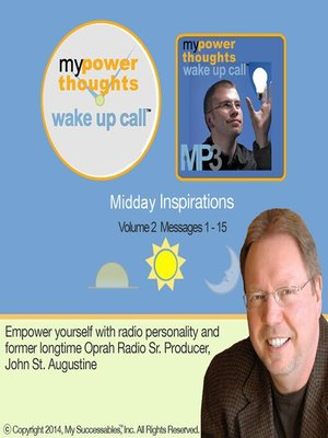 cover image of My Powerthoughts Wake UP Call, Midday Inspirations, Volume 2