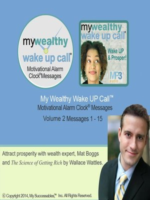 cover image of My Wealthy Wake UP Call, Volume 2