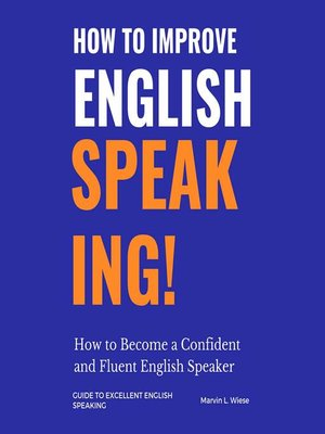 cover image of How to Improve English Speaking