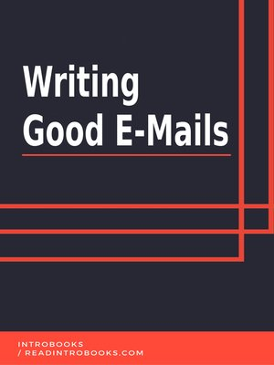 cover image of Writing Good E-Mails