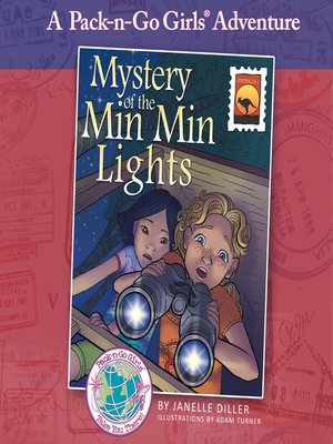 cover image of Mystery of the Min Min Lights