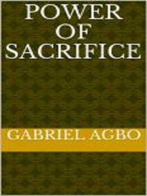 cover image of Power of Sacrifice