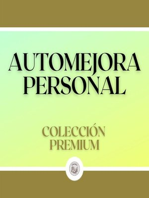 cover image of Automejora Personal