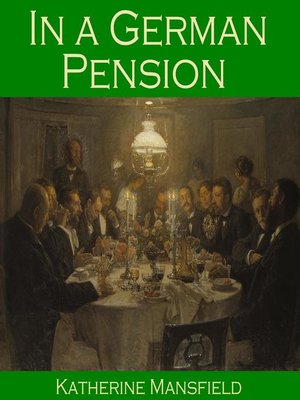 cover image of In a German Pension