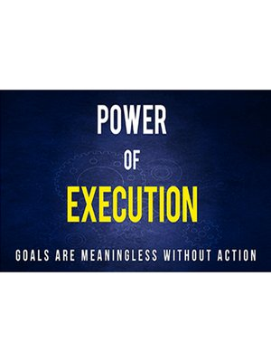 cover image of Power of Execution