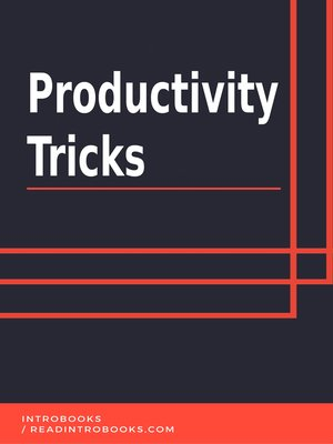 cover image of Productivity Tricks