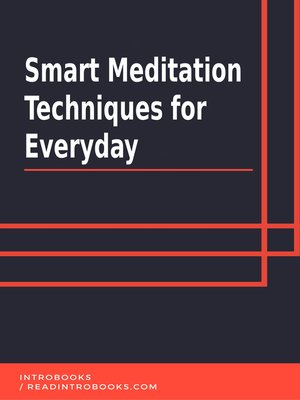 cover image of Smart Meditation Techniques for Everyday