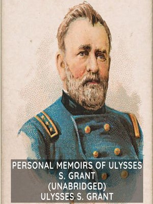 cover image of Personal Memoirs of Ulysses S. Grant