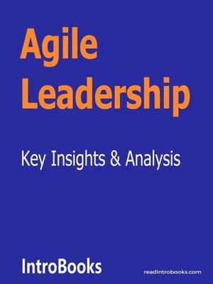 cover image of Agile Leadership