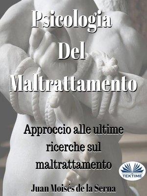 cover image of Psicologia Del Maltrattamento