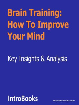 cover image of Brain Training